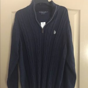 Polo Ralph Lauren Cable Knit Pullover Sweater